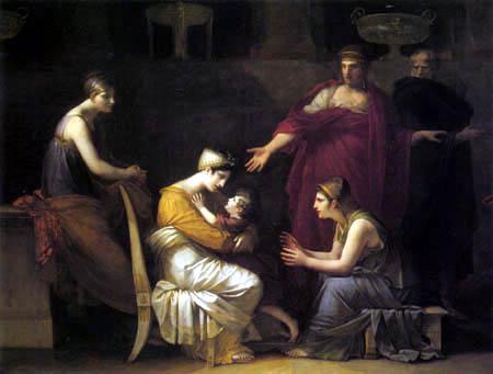 Pierre-Paul Prud´hon - Andromaque und Astyanax