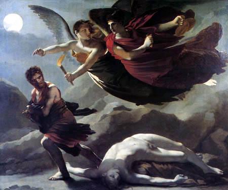 Pierre-Paul Prud´hon - Die Gerechtigkeit und die göttliche Rache, die das Verbrechen verfolgen