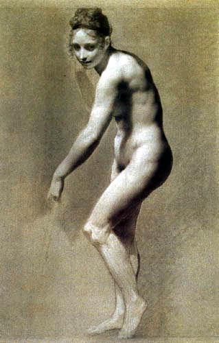 Pierre-Paul Prud´hon - Nackte Frau