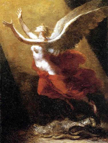 Pierre-Paul Prud´hon - Die Seele bricht ihre Verbindung zur Erde