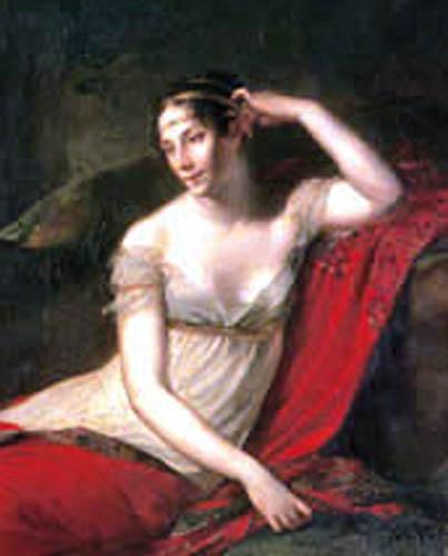 Pierre-Paul Prud´hon - Empress Joséphine at Malmaison, Detail