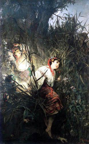 Witold Pruszkowski - Mermaids