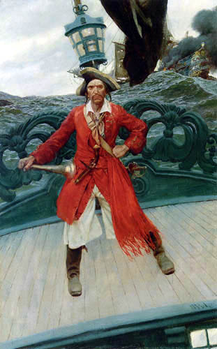 Howard Pyle - Captain Keitt
