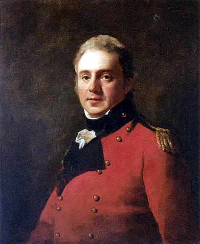 Sir Henry Raeburn - Portrait of an officer