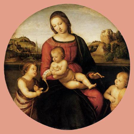 Raffaelo Raphael (Sanzio da Urbino) - Maria with child