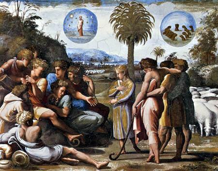 Raffaelo Raphael (Sanzio da Urbino) - Joseph tells his dreams