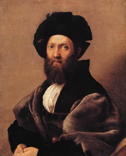 Raffaelo Raphael (Sanzio da Urbino) - Baldassare Castiglione