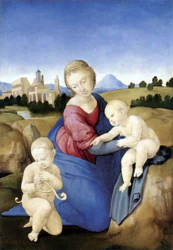 Raffaelo Raphael (Sanzio da Urbino) - Madonna Esterházy
