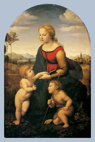 Raffaelo Raphael (Sanzio da Urbino) - Madonna with the Jesus child