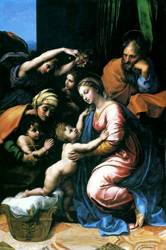 Raffaelo Raphael (Sanzio da Urbino) - The holy family