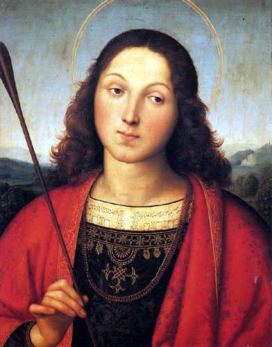 Raffaelo Raphael (Sanzio da Urbino) - St. Sebastian