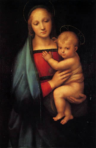 Raffaelo Raphael (Sanzio da Urbino) - Madonna del Granduca