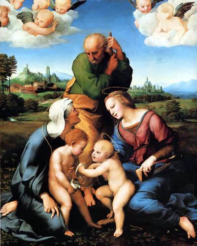 Raffaelo Raphael (Sanzio da Urbino) - Hl. Familie Canigiani