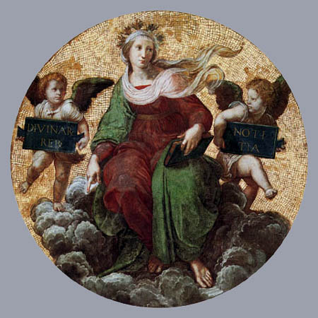 Raffaelo Raphael (Sanzio da Urbino) - The theology