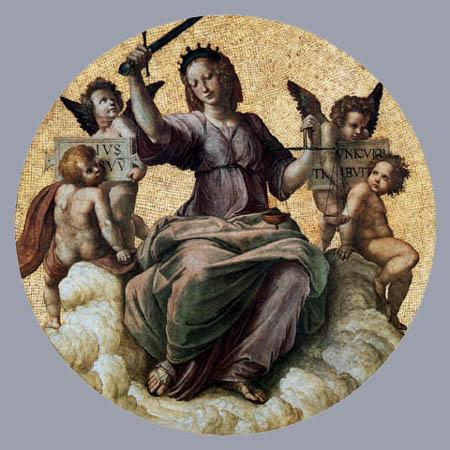 Raffaelo Raphael (Sanzio da Urbino) - Justice