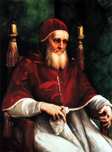 Raffaelo Raphael (Sanzio da Urbino) - Pope Julius II