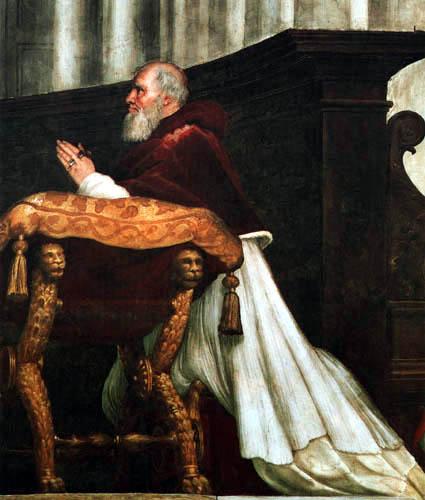 Raffaelo Raphael (Sanzio da Urbino) - Porträt Julius II