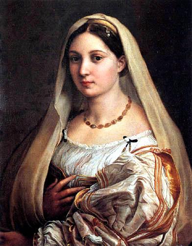 Raffaelo Raphael (Sanzio da Urbino) - Donna Velata