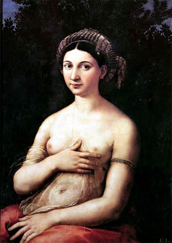 Raffaelo Raphael (Sanzio da Urbino) - La Fornarina