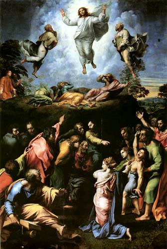 Raffaelo Raphael (Sanzio da Urbino) - The transfiguration