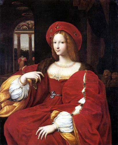 Raffaelo Raphael (Sanzio da Urbino) - Portrait of Isabel de Requesens