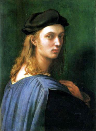 Raffaelo Raphael (Sanzio da Urbino) - Portrait of Bindo Altoviti