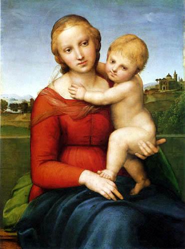 Raffaelo Raphael (Sanzio da Urbino) - Cowper Madonna
