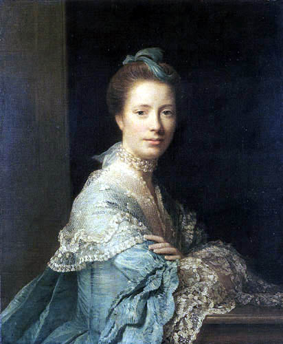 Allan Ramsay - Portrait of Jean Abercromby, Mrs Morison