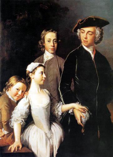 Allan Ramsay - Family Mansel