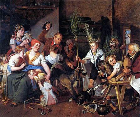 Johann Matthias Ranftl - Das Sommer- und Winterspiel