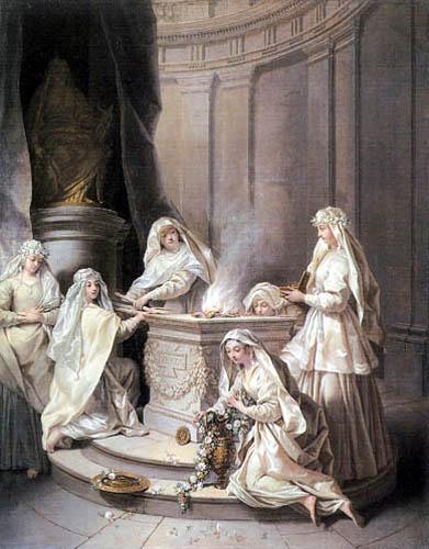 Jean Raoux - The antique virgins