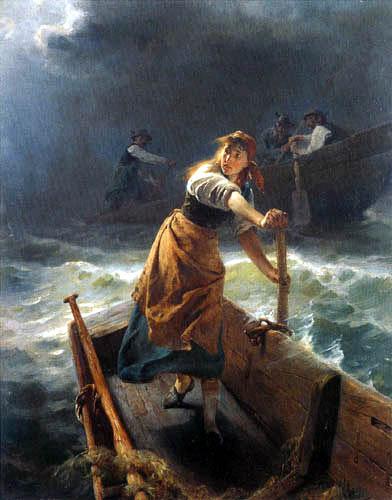 Karl Raupp - Stormy crossing