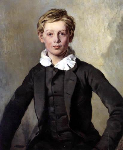Ferdinand von Rayski - Haubold von Einsiedel