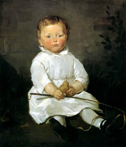 Ferdinand von Rayski - Kinderbildnis Hans von Posern
