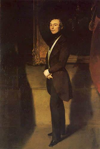 Ferdinand von Rayski - Portrait of Heinrich Schletter
