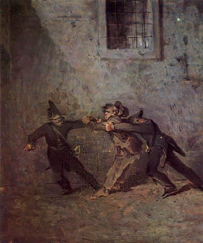 Ferdinand von Rayski - The Thug