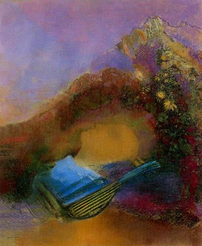 Odilon Redon - Orphée