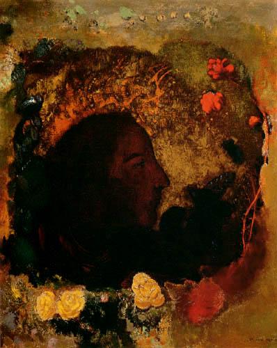 Odilon Redon - Portrait of Paul Gauguin