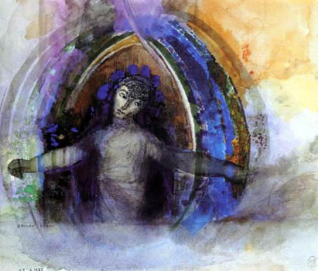 Odilon Redon - Buste de femmes