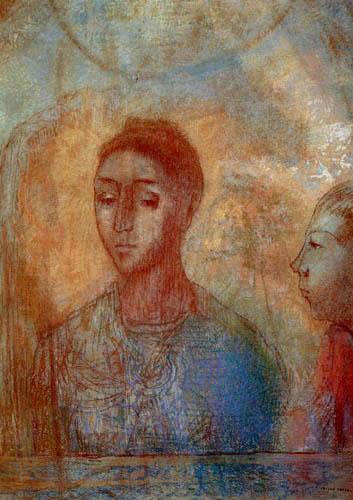 Odilon Redon - Mère et fils