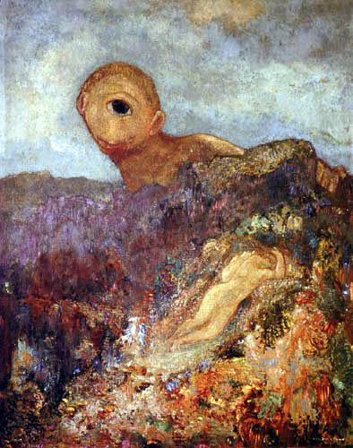 Odilon Redon - Der Zyklop