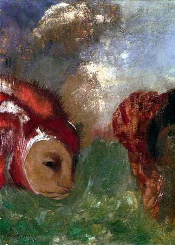 Odilon Redon - Angélique et le dragon
