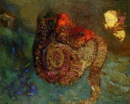 Odilon Redon - Perseus und Andromeda