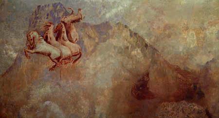 Odilon Redon - Apollon