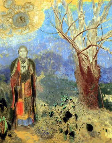 Odilon Redon - Bouddha
