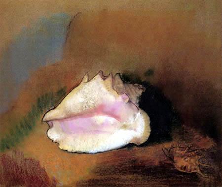 Odilon Redon - Die Muschel