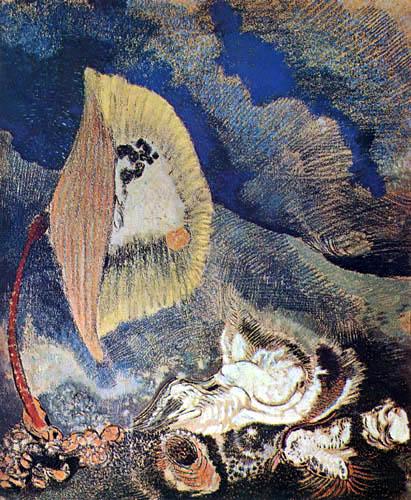 Odilon Redon - Fond de la mer