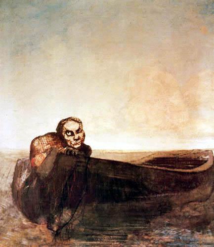 Odilon Redon - L'ange du destin