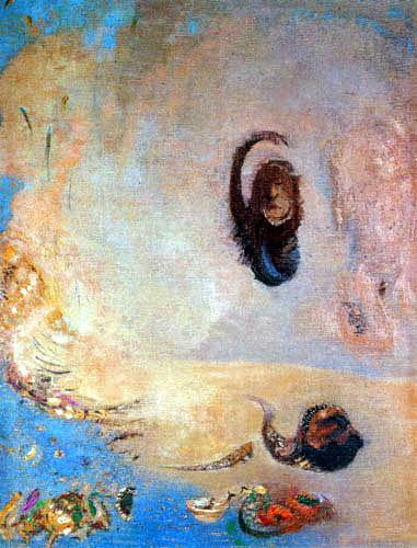 Odilon Redon - Oannes
