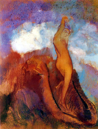 Odilon Redon - Birth of Venus